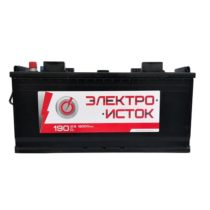 Аккумулятор ЭлектроИсток 190Ач (широкий)
