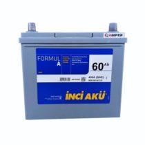 Аккумулятор Inci Aku JIS 60Ач (плоский, Honda)