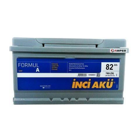 Аккумулятор InciAku 82Ач обратная полярность