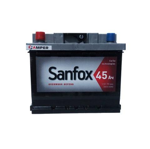 Аккумулятор СанФокс 45Ач прямая полярность