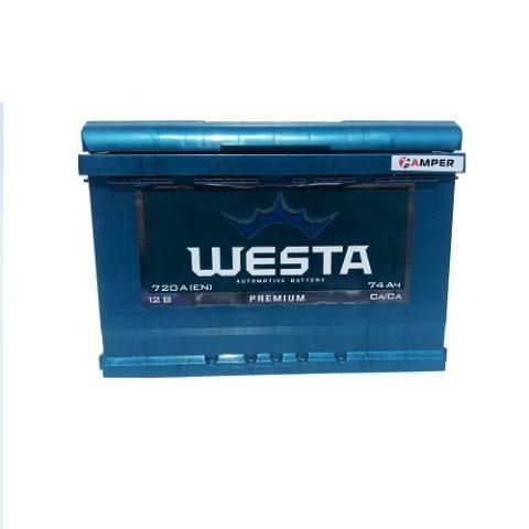 Аккумулятор Веста 74Ач обратная полярностьь