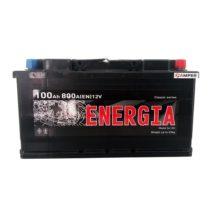Аккумулятор Energia 100Ач обратная полярность
