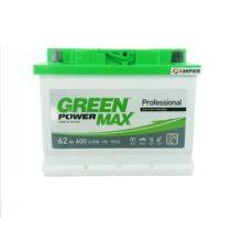 Аккумулятор Green Power Max 62Ач обратная полярность