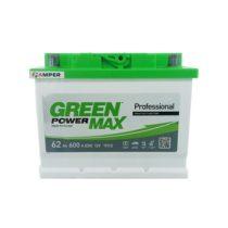 Аккумулятор Green Power Max 62 Ач прямая полярность