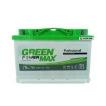 Аккумулятор Green Power Max 78 Ач обратная полярность