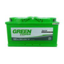 Аккумулятор Green Power 100Ач обратная полярность