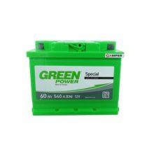 Аккумулятор Green Power 60Ач обратная полярность