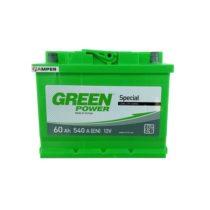 Аккумулятор Green Power 60Ач прямая полярность