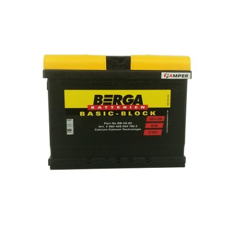 Аккумулятор Berga BasicBlock 60Ач обратная полярность