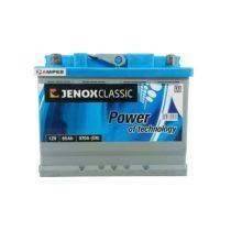 аккумулятор Jenox Classic 65Ач прямая полярность
