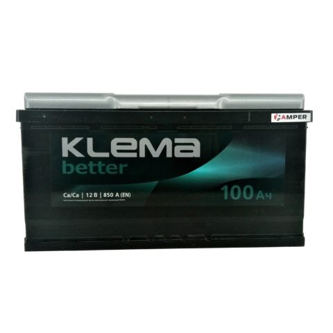 Аккумулятор Klema Better 100Ач обратная полярность