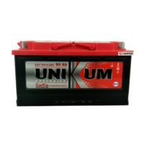 Аккумулятор Unikum 90Ач обратная полярность