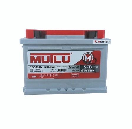 Аккумулятор MUTLU SFB 60Ач обратная полярность