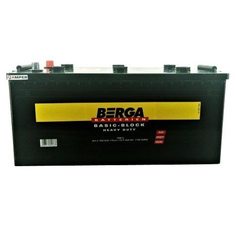 Аккумулятор Berga Truck BasicBlock 220Ач