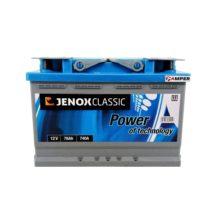 Аккумулятор Jenox Classic 78Ач обратная полярность