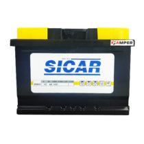 Фото аккумулятора SICAR 6СТ-60AH