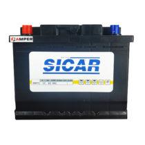 Фото аккумулятора SICAR 6СТ-65AH АЗ 65AH 580A