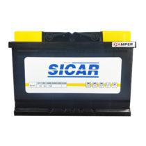 Фото аккумулятора SICAR 6СТ-80AH