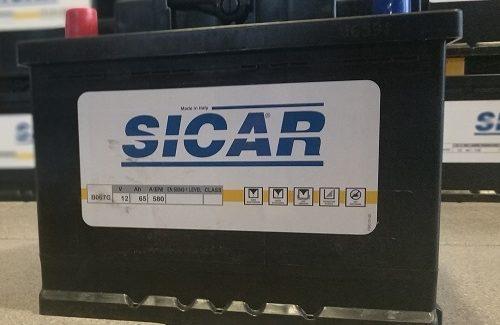 Фото итальянского аккумулятора Sicar